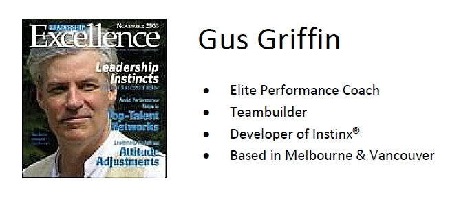 Gus Griffin, developer of Instinx