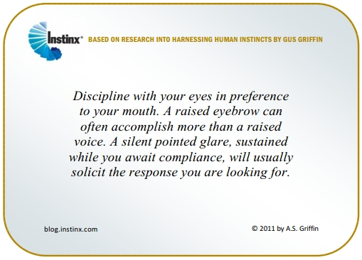 INSTINX - Disciplining