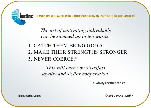 INSTINX - Motivating Individuals