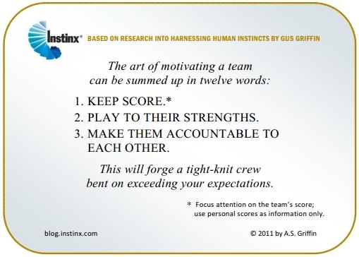 INSTINX - Motivating a Team