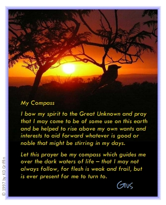 'My Compass' prayer