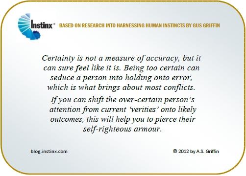 INSTINX - Certainty